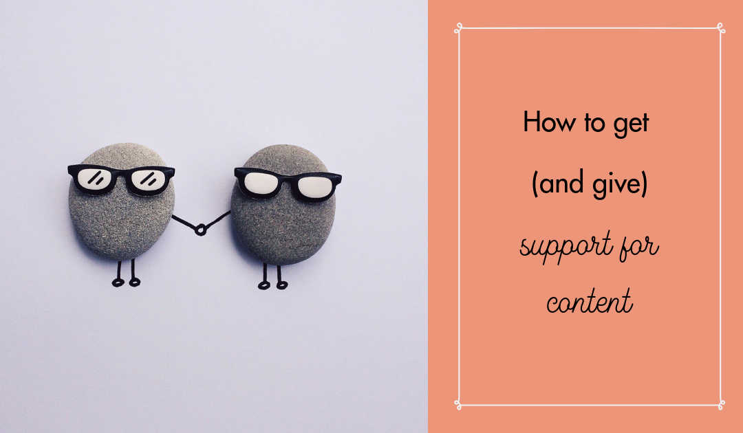 How to get engagement and support for content